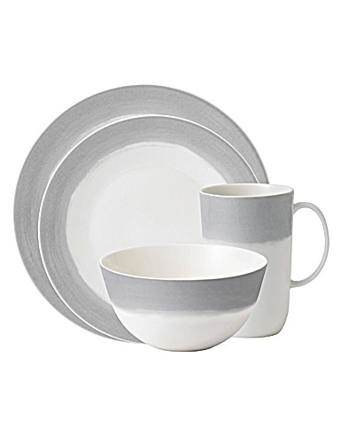 Wedgwood Vera Wang Vera Simplicity Ombre 4 Piece Place Setting