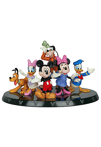 Swarovski Crystal, Myriad Disney Mickey and Friends 90th Anniversary, Limited Edition Sculpture