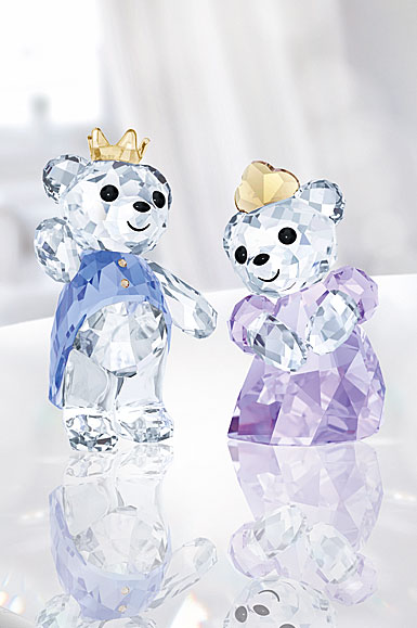Swarovski Crystal Kris Bear Prince and Princess