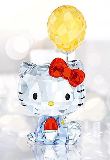 Swarovski Crystal, Hello Kitty Balloon