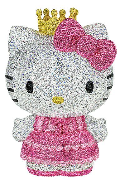 Swarovski Crystal, Myriad Sanrio Hello Kitty Princess, Limited Edition Sculpture