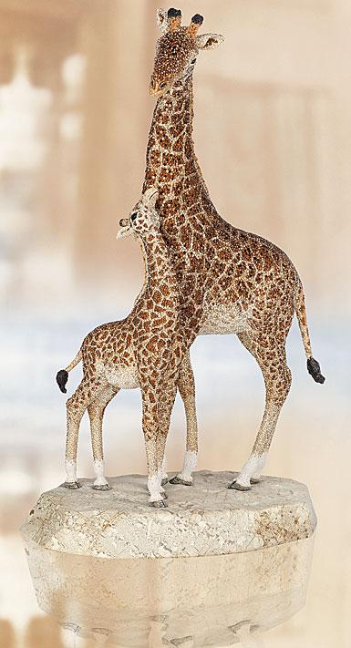 Swarovski Crystal Myriad Kya Giraffe Sculpture Limited Edition of 300