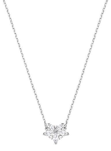 Swarovski Lady Crystal Rhodium Pendant Necklace