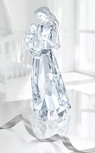Swarovski Crystal, A Loving Bond, Mother and Child