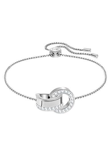 Swarovski Hollow Crystal Rhodium Bracelet