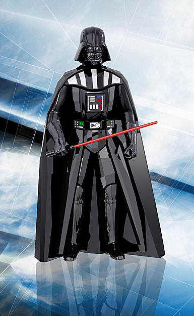 Swarovski Disney Star Wars Darth Vader Sculpture