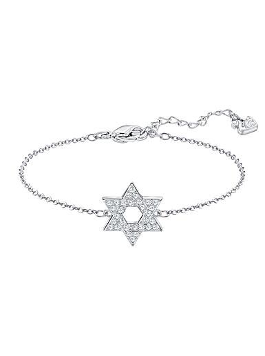 Swarovski Star Of David Crystal Medium Bracelet