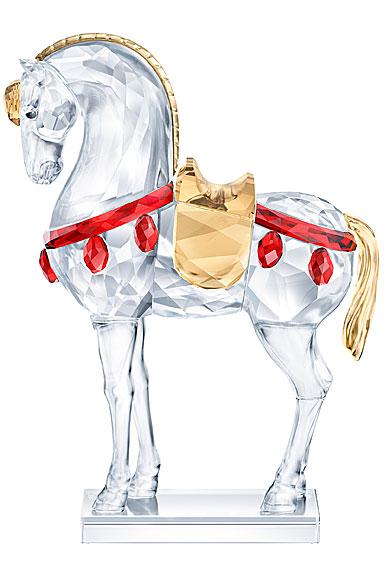 Swarovski Asian Icons Warrior Horse