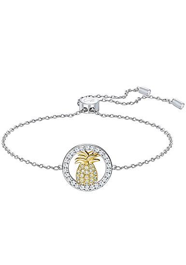 Swarovski Lena Pineapple White Multi Metal Bracelet
