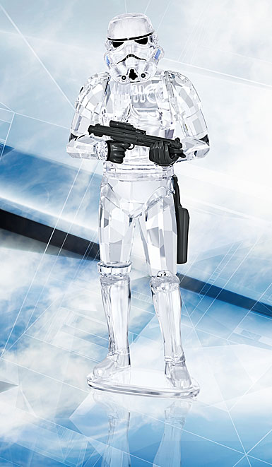 Swarovski Crystal Star Wars Stormtrooper Sculpture