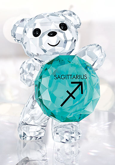 Swarovski Crystal, Kris Bear Sagittarius Horoscope Sculpture