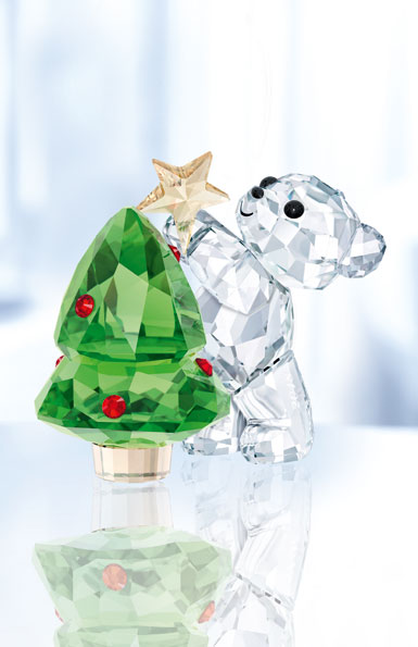 Swarovski Crystal, 2018 Kris Bear Christmas, Annual Edition