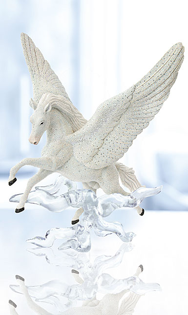 Swarovski Crystal, Myriad Pegasus Sculpture