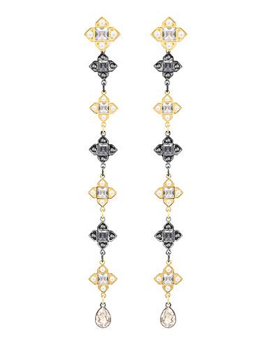 Swarovski Millennium Multi Colored Pierced Earrings Pair
