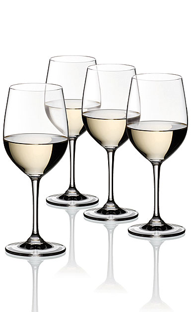 Riedel Vinum Chardonnay, Viognier Wine Glasses Gift Set, 3+1 Free