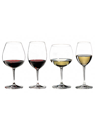 Riedel Vinum, Tasting Crystal Wine Glasses, Set