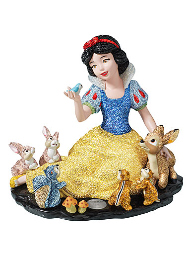 Swarovski Crystal, Disney Snow White And Forest Animals, Limited Edition