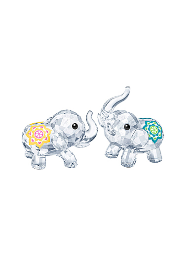 Swarovski Asian Symbols Lucky Elephants