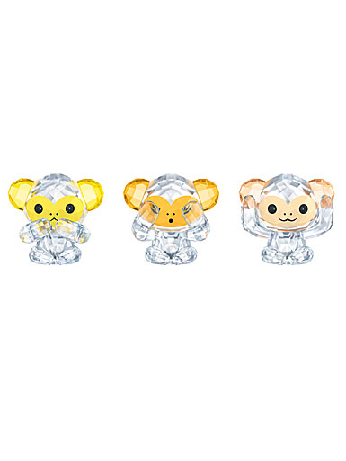 Swarovski Asian Icons Three Wise Monkeys