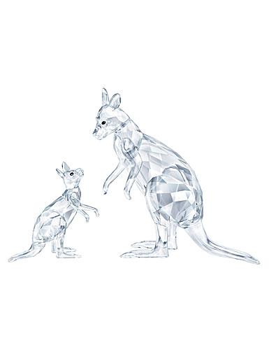 Swarovski Rare Encounters Kangaroo Mother With Baby