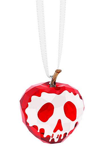 Swarovski Crystal, Disney Snow White Collection, Poisoned Apple Ornament