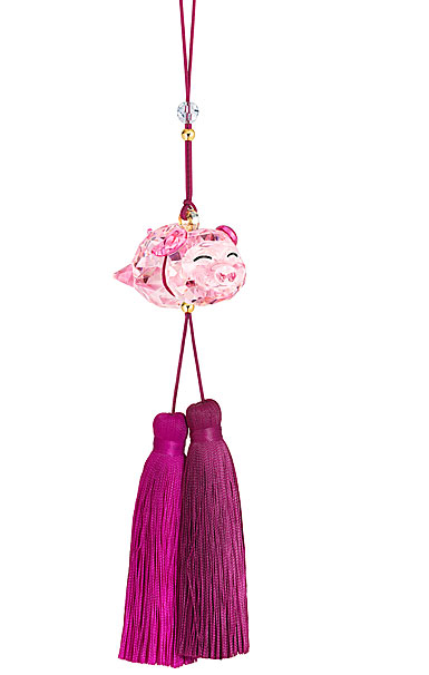 Swarovski Asian Ornaments Pig Ornament