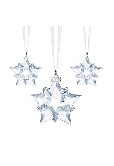 Swarovski 2019 Ornaments Christmas Set