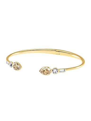 Swarovski Gold Mix and Match Bangle Bracelet