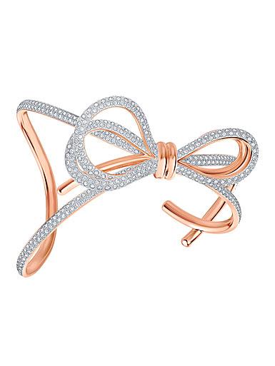 Swarovski Jewelry, Lifelong Bow Cuff Crystal Mix Medium