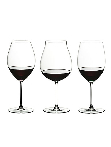 Riedel Veritas, Red Wine Tasting Wine Glasses, Set