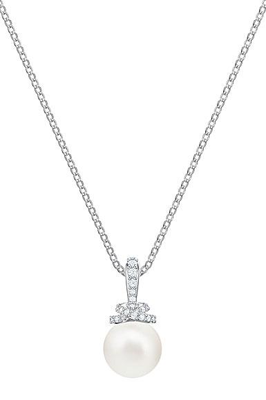 Swarovski Jewelry, Originally Pendant Small Crystal Rhodium Silver
