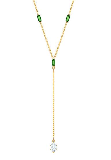 Swarovski Jewelry, Oz Necklace Y Crystal Gold