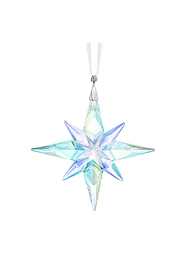 Swarovski Crystal Small AB Star Ornament