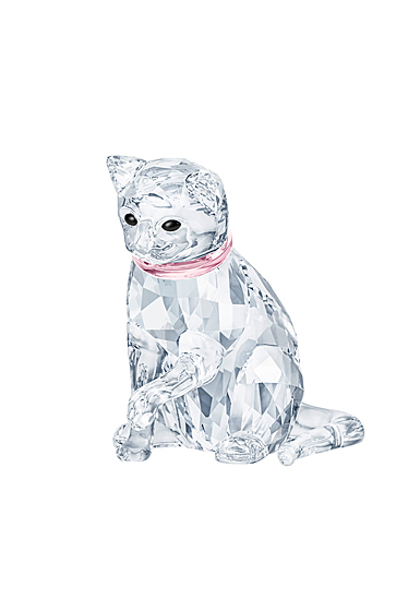 Swarovski Crystal Nature Cat Mother