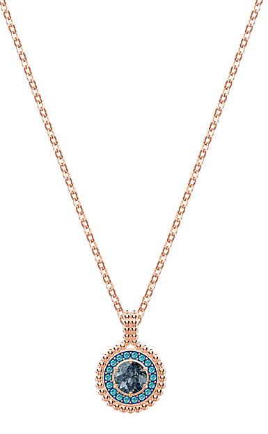Swarovski Oxygen Pendant, Gray, Rose Gold