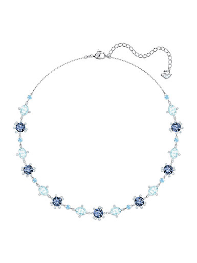 Swarovski Jewelry, Olive All-Around Multi Colored Rhodium Silver