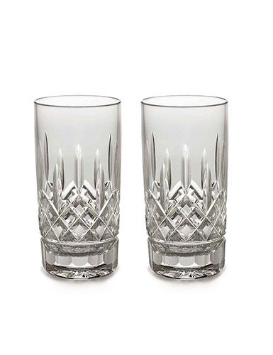 Waterford Crystal, Lismore 12 oz. Hiball Tumbler, Pair