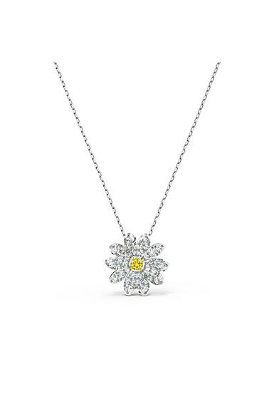 Swarovski Necklace Eternal Flower Pendant Bee Crystal Mix