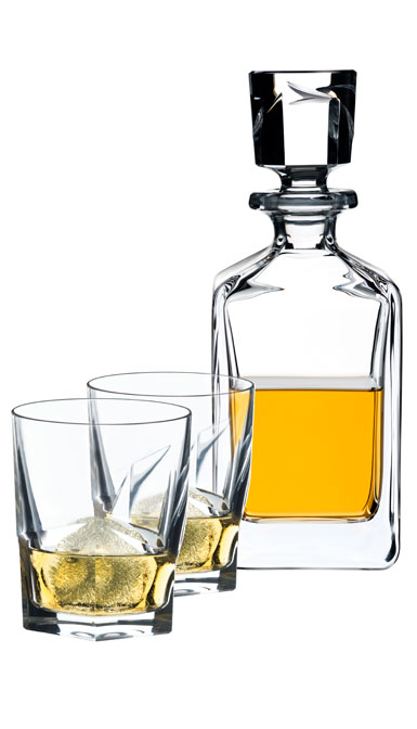 Riedel Louis Whisky Gift Set, Decanter with stopper, 2 Tumblers