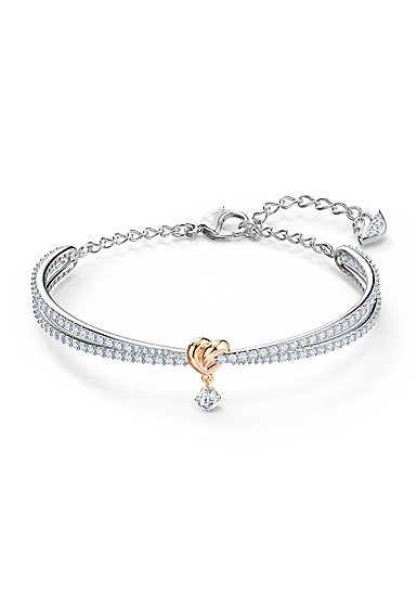 Swarovski Bracelet Lifelong Heart Bangle Crystal Mix M