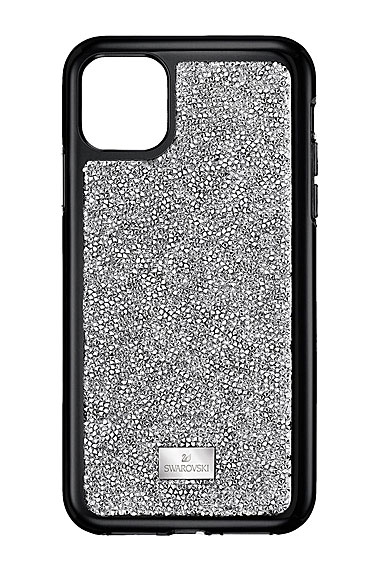 Swarovski Mobile Phone Case Glam Rock iPhone 11 Pro Case Stainless Steel Shiny