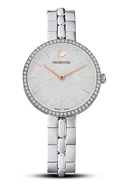 Swarovski Women's Watch Pave Cosmopolitan Stainless Steel Shiny Silver
