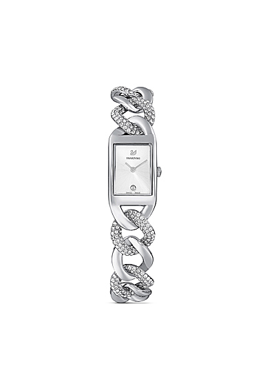 Swarovski Women's Watch Cocktail Mc Stainless Steel Shiny White