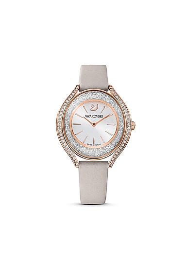 Swarovski Women's Watch Crystalline Aura Gray White Pro