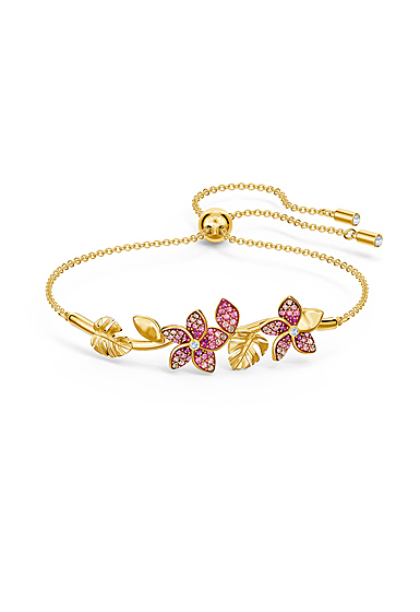 Swarovski Bracelet Tropical Bangle Light Multi Gold M