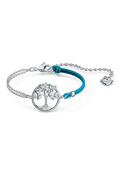 Swarovski Bracelet Symbol Bangle Tree Crystal Rhodium Silver M