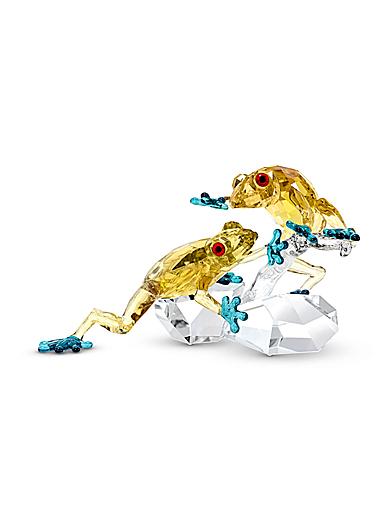 Swarovski Crystal Paradise Frogs