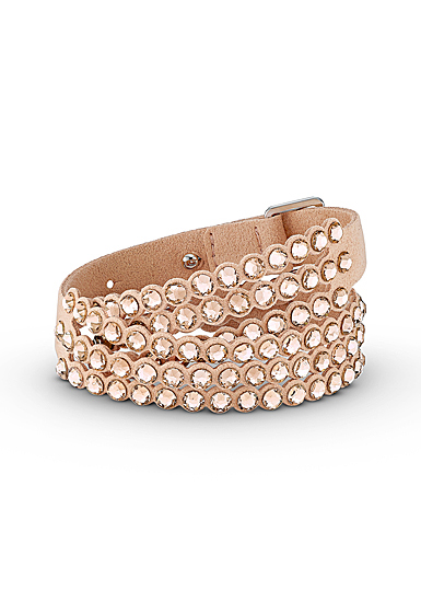Swarovski Power Collection Slake Bracelet, Pink