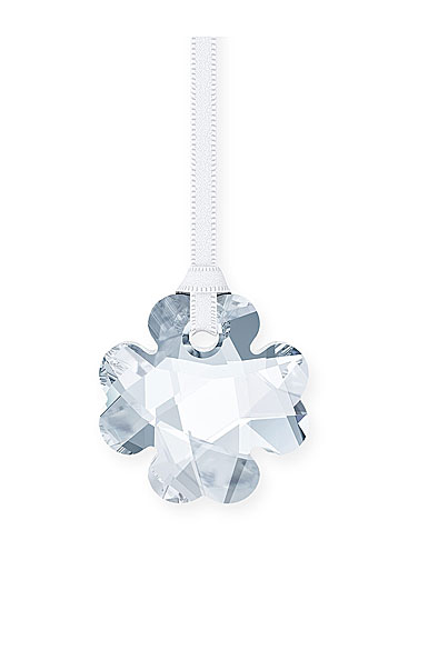 Swarovski Crystal Four Leaf Clover Ornament