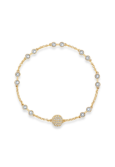 Swarovski Bracelet Remix Strand Simple Gold M